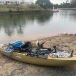 Solo Kayak Fishing Gold Coast